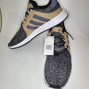 Adidas Mens X PLR Sneakers Khaki Black Size 11